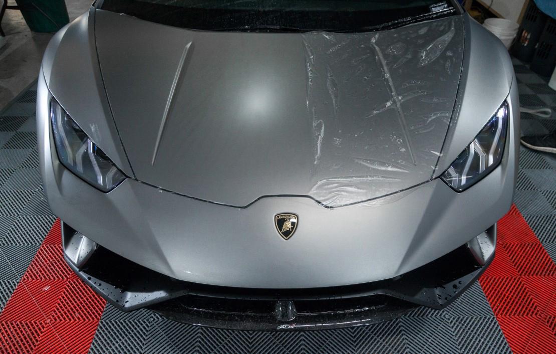 Lamborghini Huracan Matte Paint Protection Film
