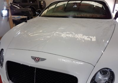 Bentley Continental GT - Full front PPF - white (4) (Large)