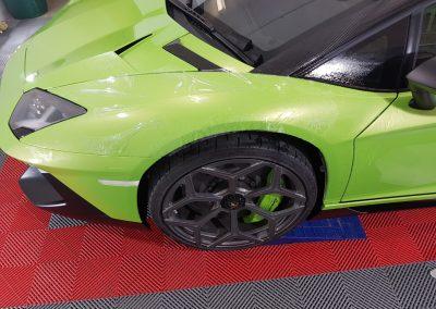 Lamborghini Aventador SV full body PPF - green (6) (Large)