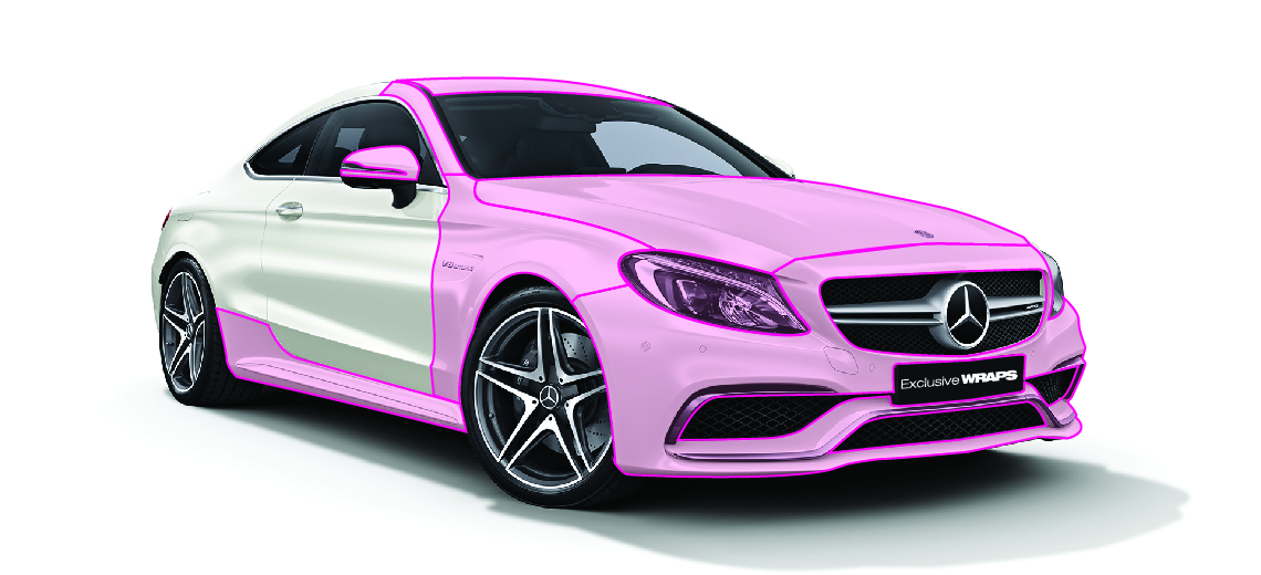 Mercedes Paint Protection Film kit - PPF