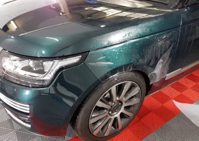 Range Rover Autobiography - Full front PPF - green (16) (Large)