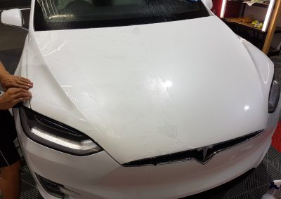 Tesla Model X - Full front PPF - white (8) (Large)