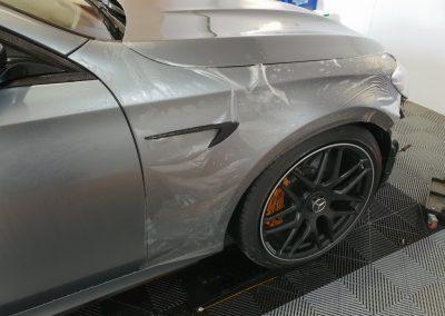 Mercedes E63 - Full body stealth PPF - matte grey (3) (Medium)