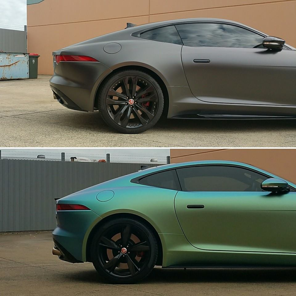 Jaguar F-type - Colour Change Wrap