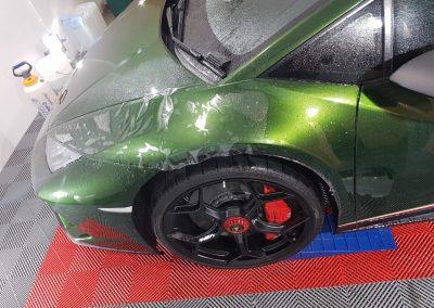 Lamborghini Huracan Performante - Full front PPF - green (8) (Large)
