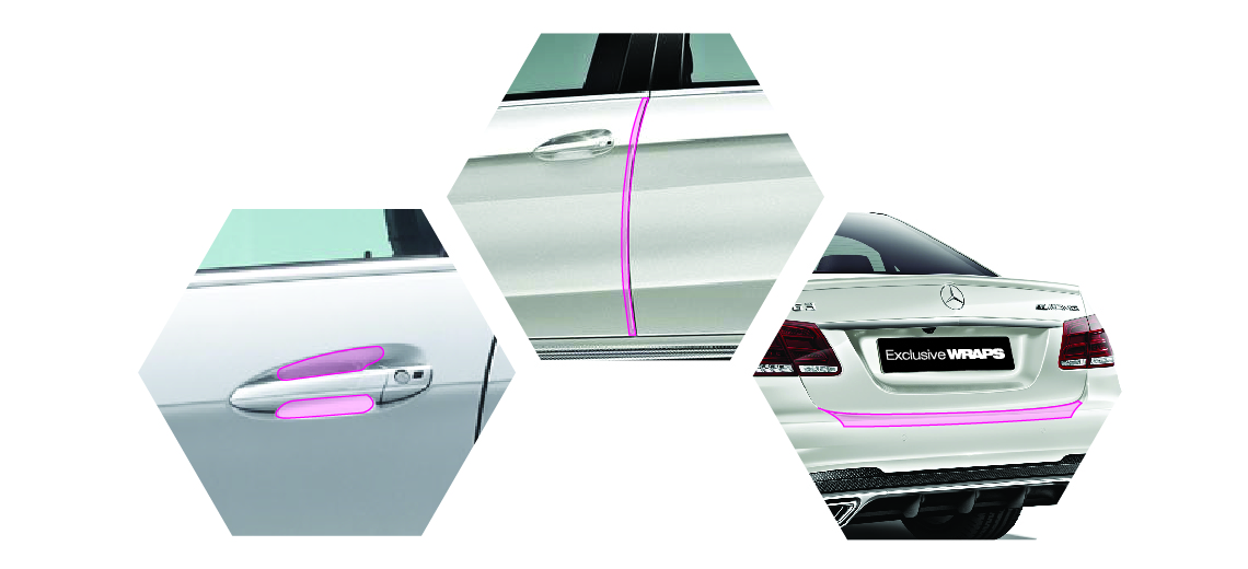 Wear and Tear Paint Protection Film kit - PPF