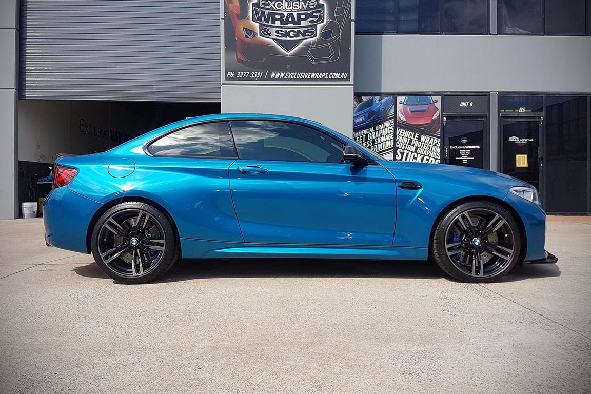 BMW M2 - Colour Change Wrap