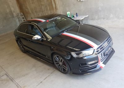 Audi S3 - tricolour stripes (2) (Medium)