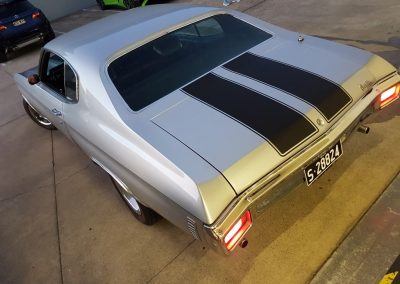 Chevelle top stripes - silver and black (1) (Medium)