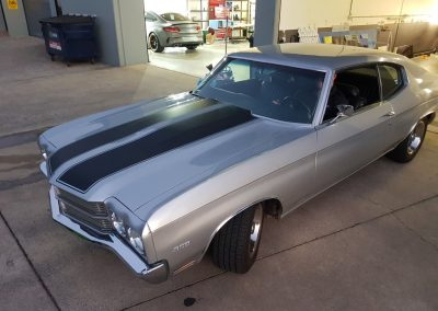 Chevelle top stripes - silver and black (2) (Medium)