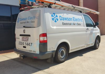 Dawson electrical van