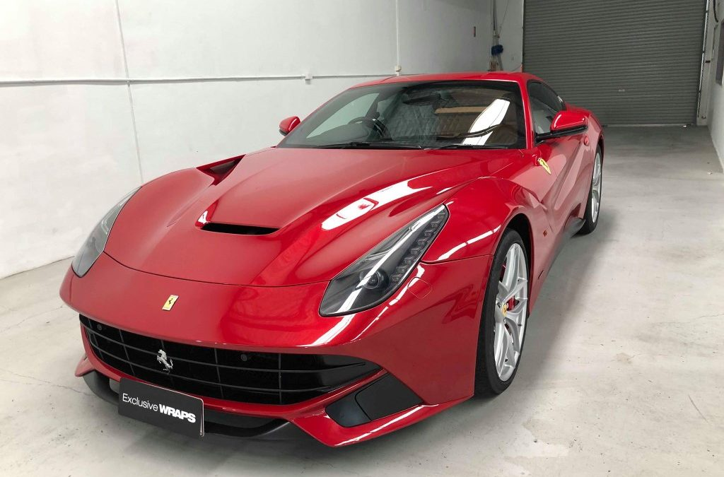 PPF for the Ferrari F12 Berlinetta